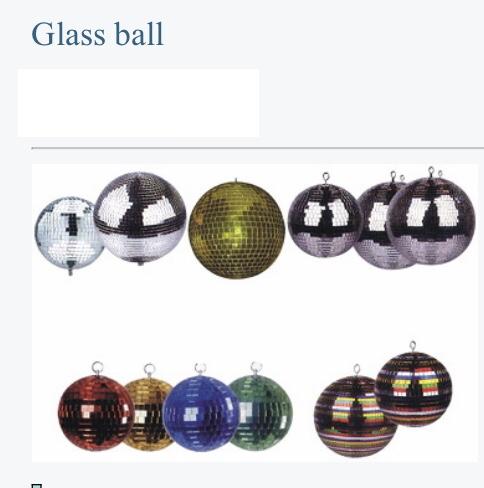 """Mirror ball 30"""""""