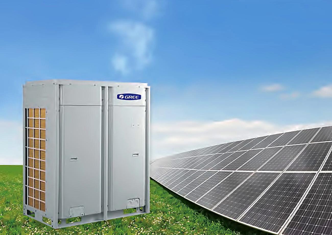 เครื่องปรับอากาศพลังงานแสงอาทิตย์ระบบ SOLAR HYBRID Inverter Multi VRF