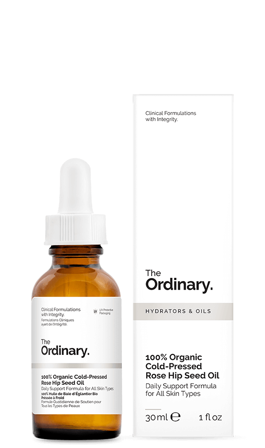 100% Organic Cold-Pressed Rose Hip Seed Oil 30ml