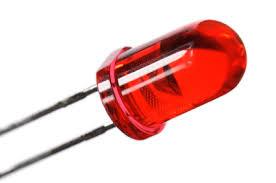 LED 5mm. Red(สีแดง)