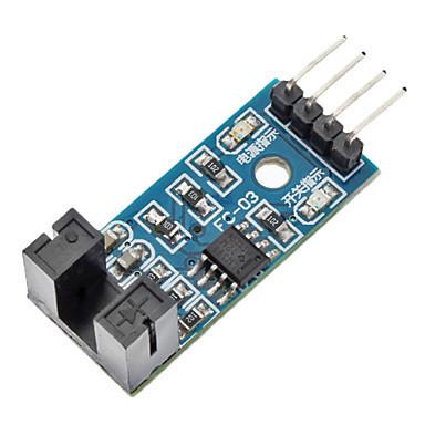 เซนเซอร์นับรอบพร้อมวงล้อ (counter module motor speed sensor)