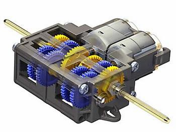 Double Gear Box (4-Speed)