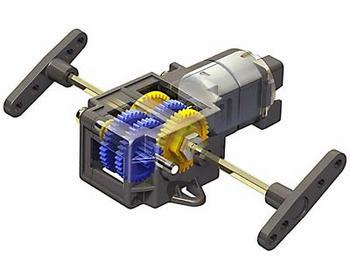 Single Gear Box (4 Speed)
