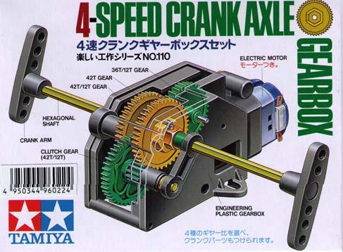 4-Speed Crank Axle Gearbox