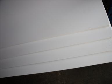 แผ่นพลาสวูด หนา 3 mm. ขนาด 20x30 cm.