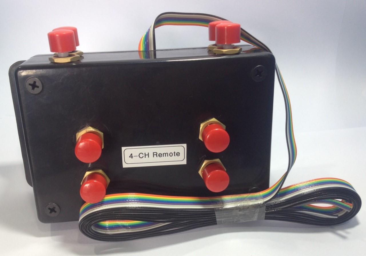 รีโมทควบคุมแบบมีสาย 4CH แบบปุ่มกด