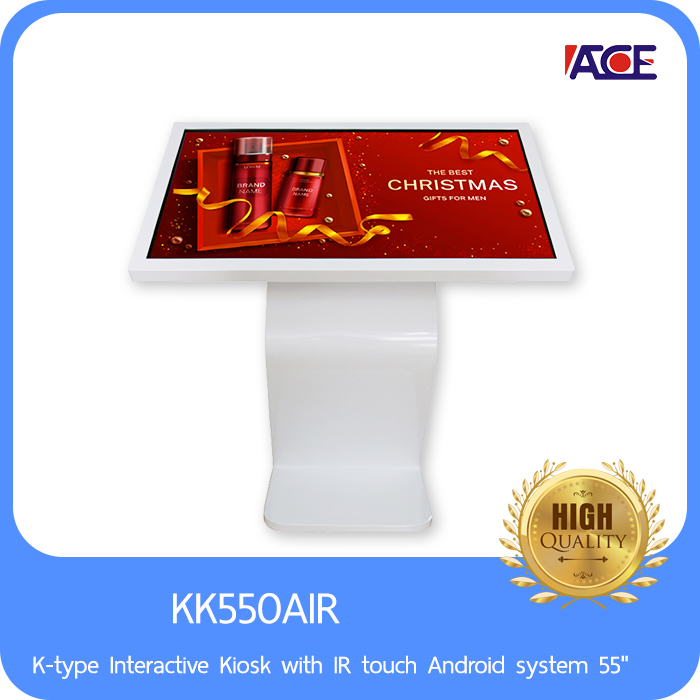 """K-type Interactive Kiosk with IR touch Android system 55"""""""