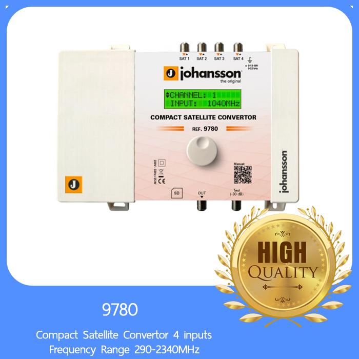 Johansson 9780 Compact Satellite Convertor 4 inputs Frequency Range 290-2340MHz