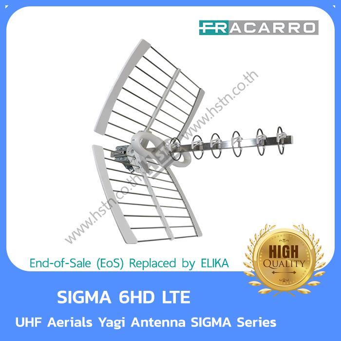 Fracarro SIGMA 6HD LTE UHF Aerials Yagi Antenna SIGMA Series