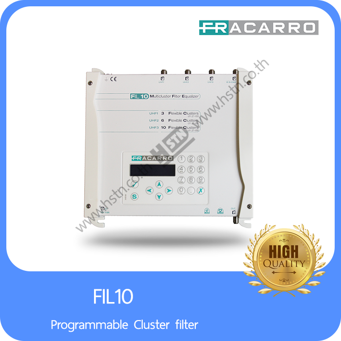 FIL10 Programmable Cluster filter