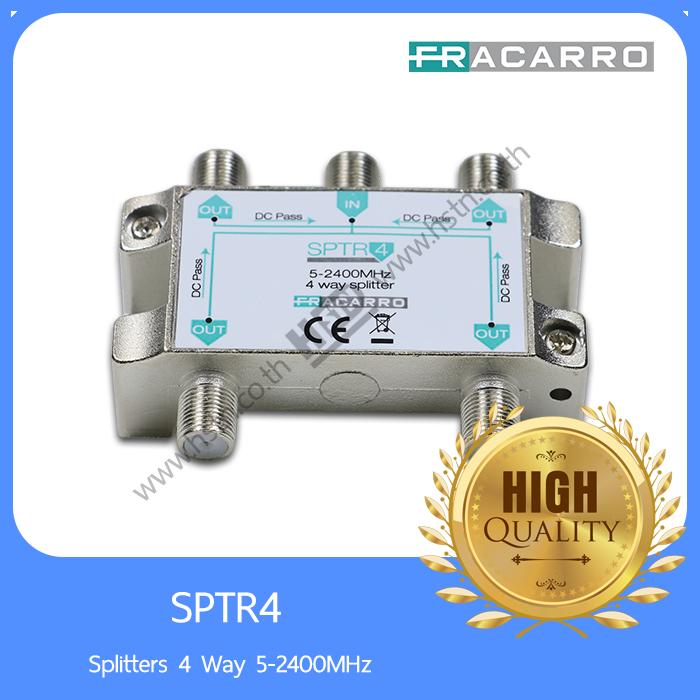 SPTR4 Splitters 4 Way 5-2400MHz