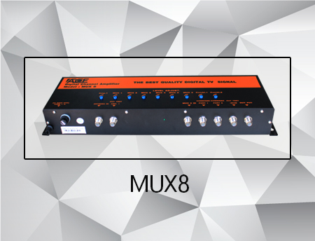 MUX8 (8 Channel Level Adjust With 3 Port Combiner)