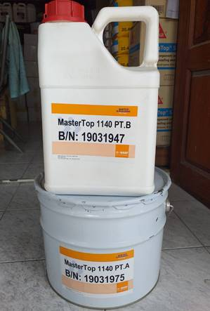 BASF MasterTop 1140, 10 litr/set (A+B)