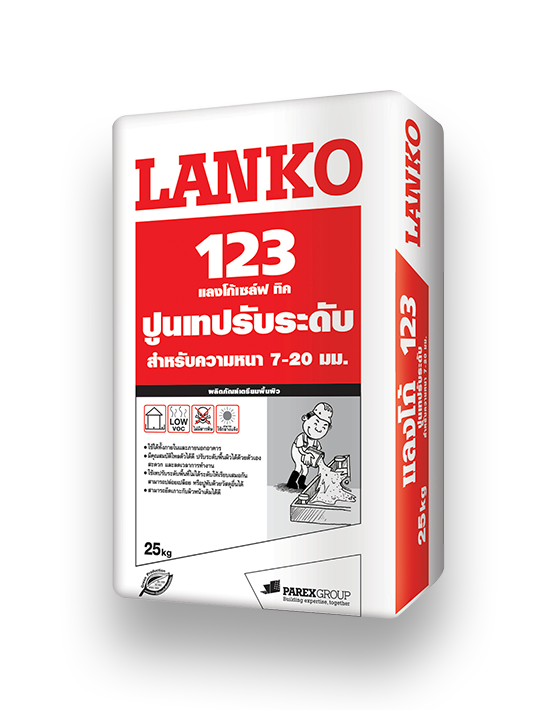 Lanko 123 Self Thick, 25 kg/bag