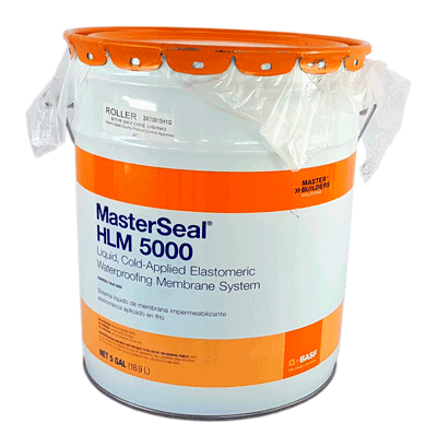 BASF Masterseal HLM5000 (formerly known as Sonoshield HLM 5000), 21.99 kg/pail
