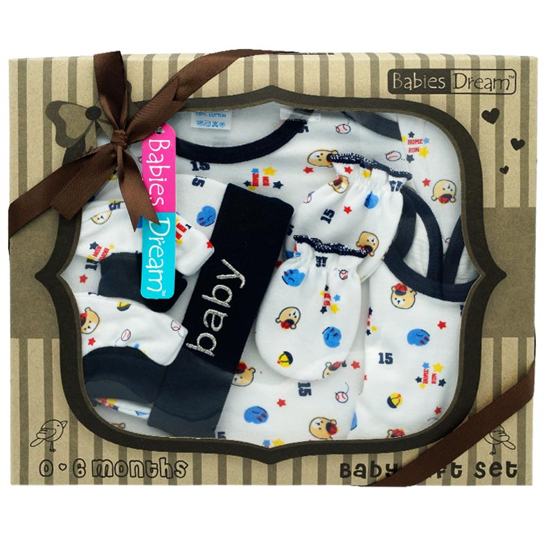 5 Baby pieces Gift set