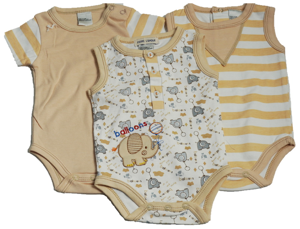 3 Pack bodysuit  value pack