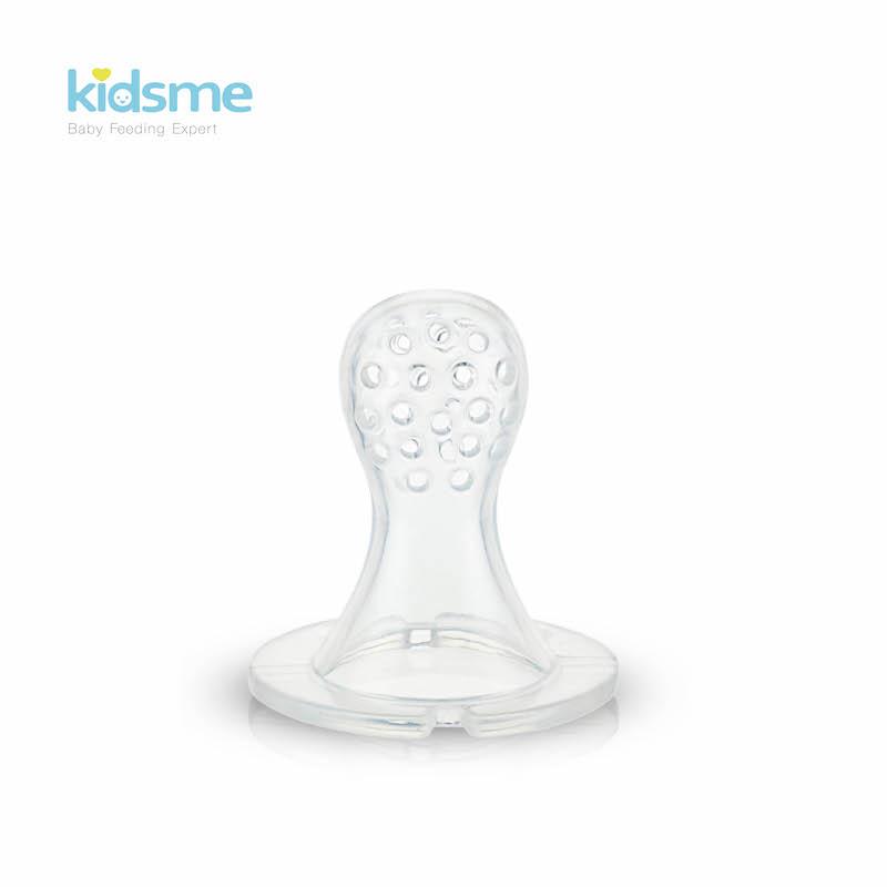 Kidsme จุกซิลิโคนเปลี่ยนสำหรับ Food Feeder - ไซส์ S 2 ชิ้น