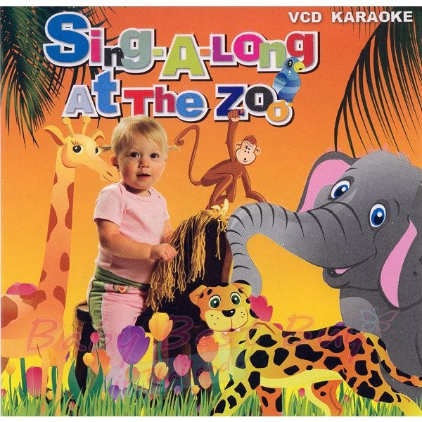 VCD - SING A LONG AT THE ZOO