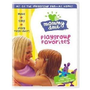 DVD เพลงสำหรับเด็ก Mommy & Me Playgroup Favorites