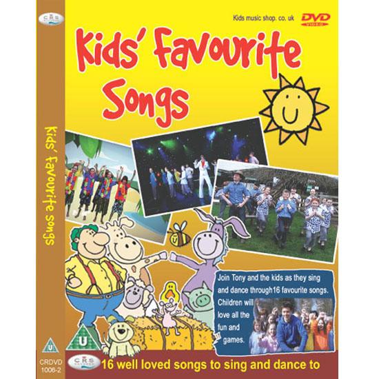 DVD เพลงสำหรับเด็ก Kid's Favourite Songs
