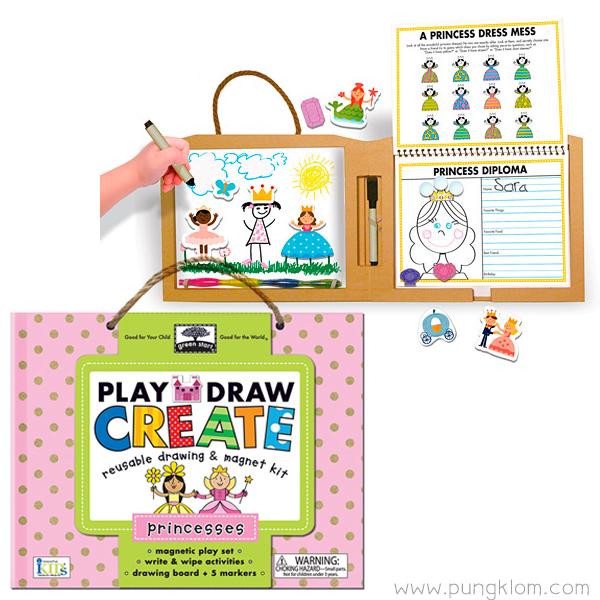 ชุดวาดรูป ระบายสี Play Draw Create - Princess