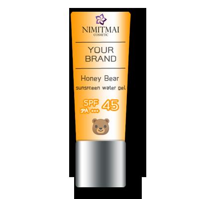 Honey Bear sunscreen water gel