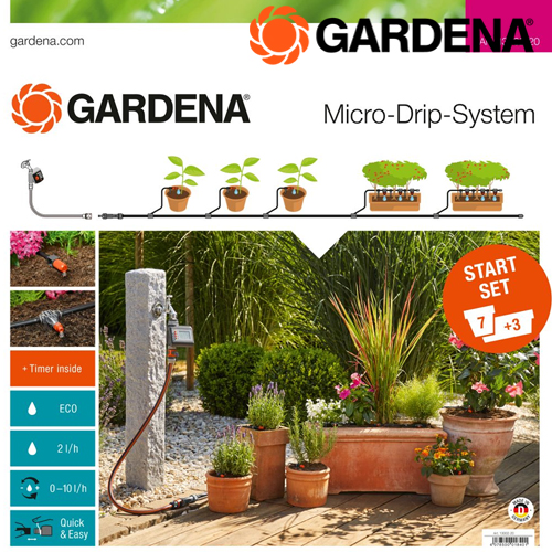 Startset Flower Pots Automatic (Come With Water Control)