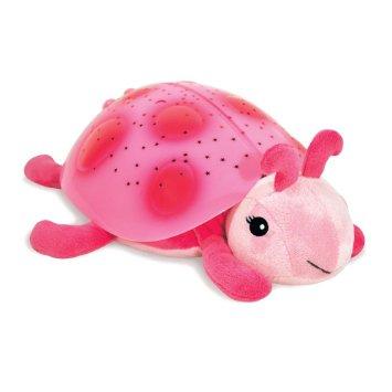 ของใช้เด็ก ของเล่นเด็ก Ladybug Pink โคมไฟเต่าทองฉายรูปดาว สีชมพู