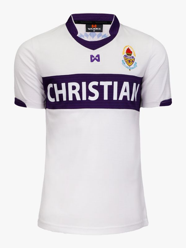 BCC Bangkok Christian College FC Authentic Thailand Football Soccer League Jersey Shirt White