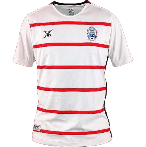 Cambodia National Team Football Soccer Authentic Genuine Jersey Shirt White Player Edition