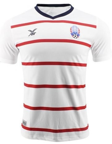 Cambodia National Team Football Soccer Authentic Genuine Jersey Shirt White Replica Edition