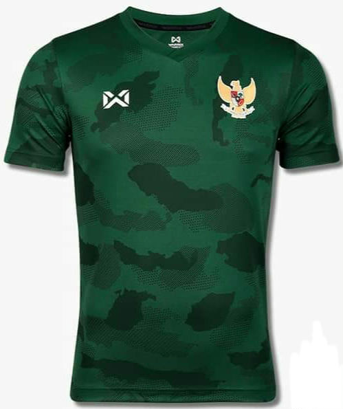 2020 Indonesia National Team Football Soccer Authentic Genuine Jersey Shirt Green
