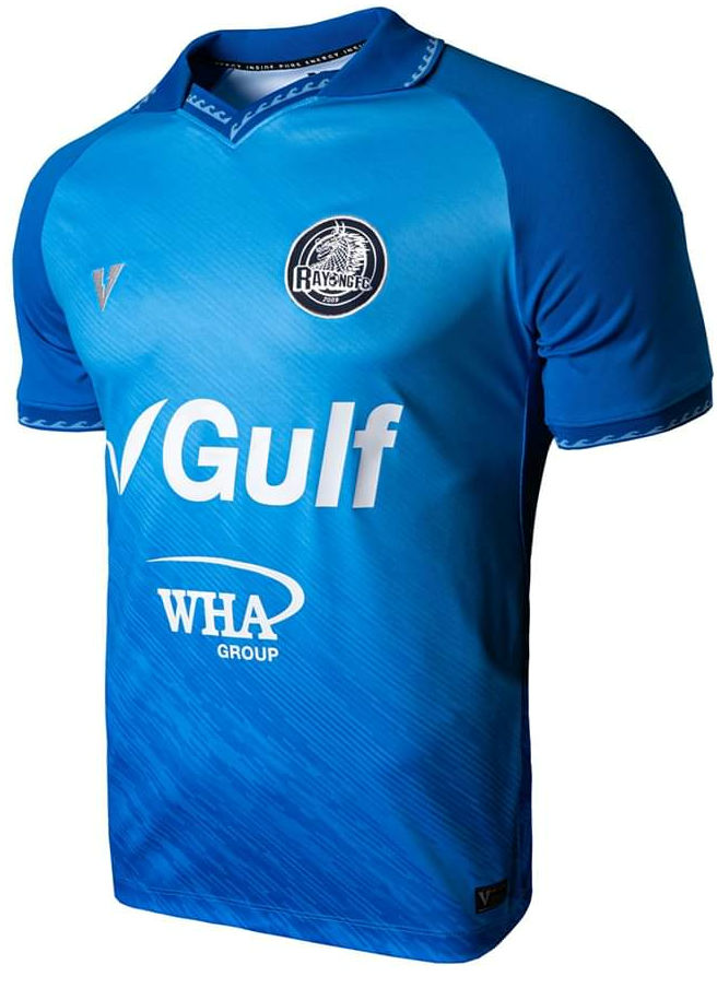 Rayong FC 2020 Thailand Football Soccer League Jersey Shirt Blue Home Player Edition