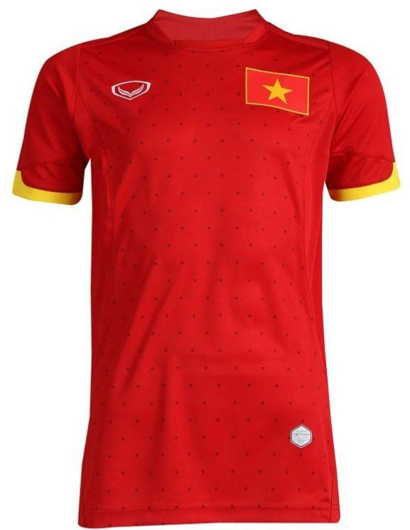 Vietnam National Team Genuine Official Football Soccer Jersey Shirt Red Home Player Edition