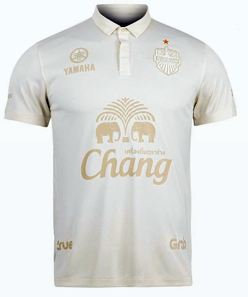2020 Buriram United Thailand Football Soccer League Jersey Shirt Away Cream