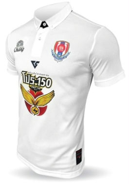 Navy FC Authentic Thailand Football Soccer League Jersey White Player