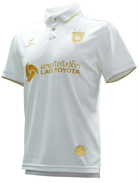2020 Lao Toyota FC Authentic Laos Football Soccer League Jersey White AFC Cup