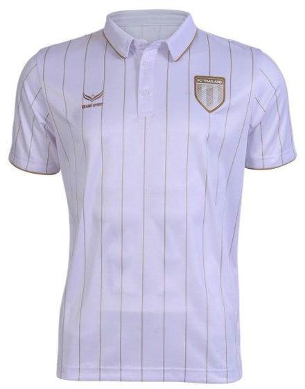 Original FC Thailand Thai Football Soccer Jersey Shirt White