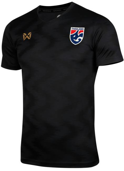 2020 Thailand National Team Thai Football Soccer Jersey Shirt Player Version Black Training