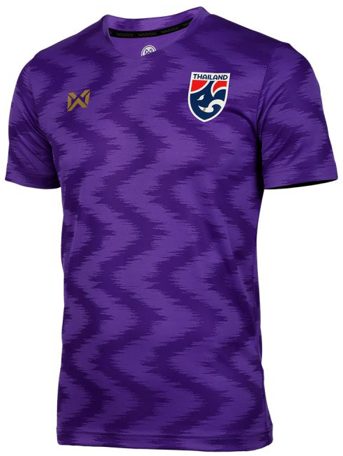 2020 Thailand National Team Thai Football Soccer Jersey Shirt Player Version Purple Training