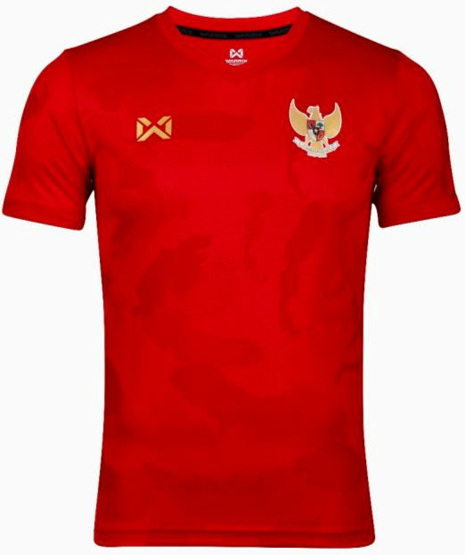 2020 Indonesia National Team Football Soccer Authentic Genuine Jersey Shirt Red