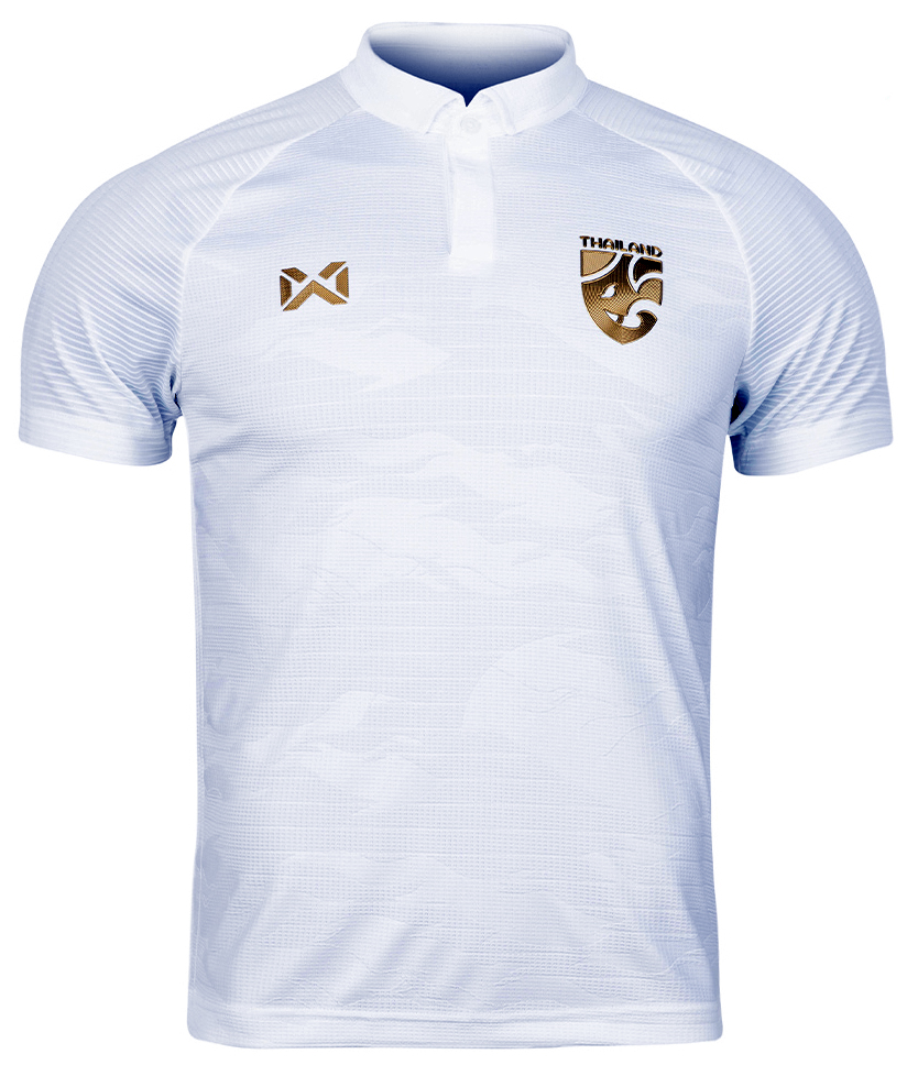 2020 Thailand National Team Thai Football Soccer Jersey Shirt White Player Replica