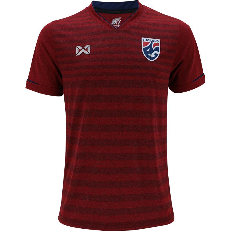Thailand National Team Thai Football Soccer Jersey Shirt Red Player Replica Version