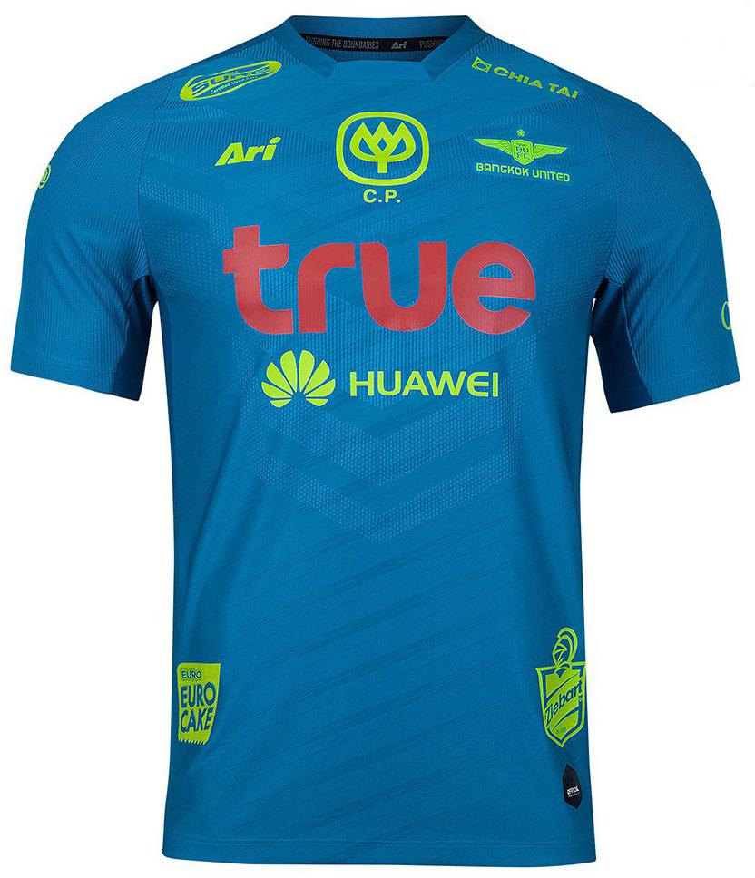 Bangkok United Authentic Thailand Football Soccer League Jersey Shirt Green Player
