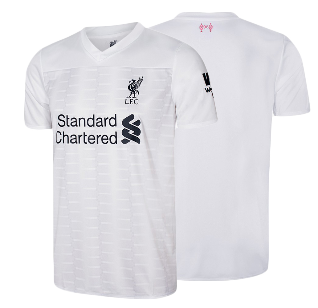 half off 4e204 addcd Liverpool FC 100% Official License 2019/2020 Liverpool FC English Premier  League Jersey Shirt Away White