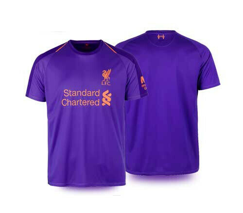 Liverpool FC 100% Official License LFC Brand 2019 English Premier League Jersey Shirt Trikot Purple Away