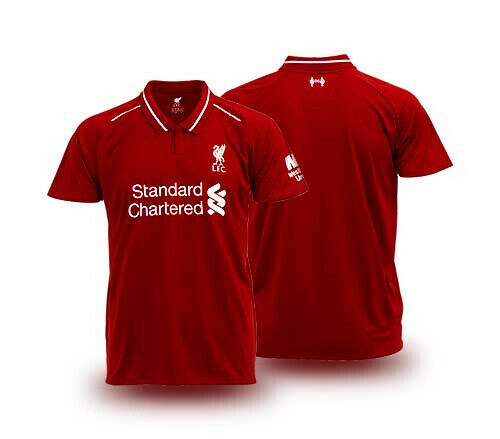 new arrival 0c791 d24e9 Liverpool FC 100% Official License Product 2019 English Premier League  Jersey Shirt Home Red Thailand Supporter Edition