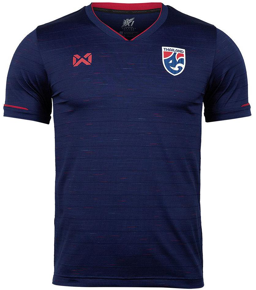 Thailand National Team Thai Football Soccer Jersey Shirt Blue Player Replica Version