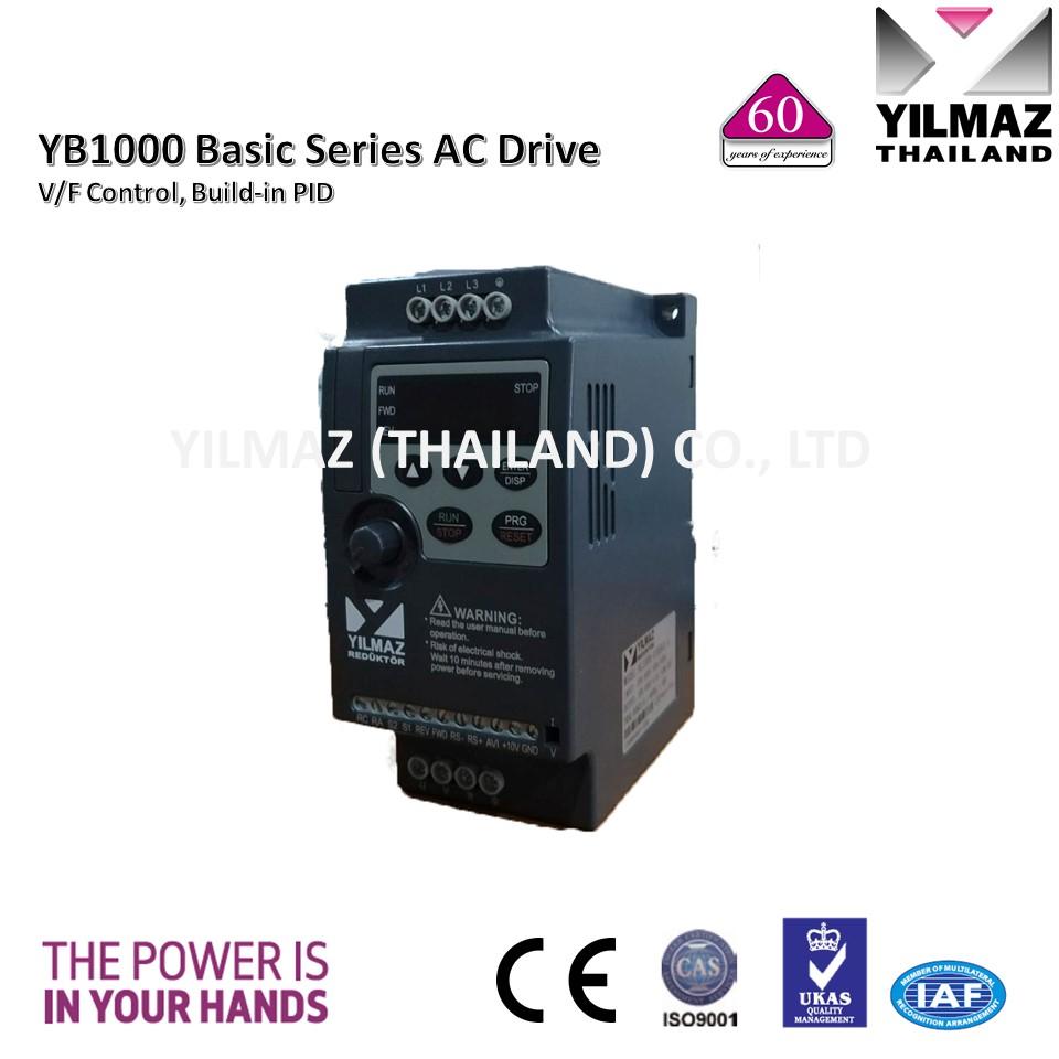 YILMAZ Inverter NL1000-00R7G4-YB, 0.75kW., 3Phase 380V